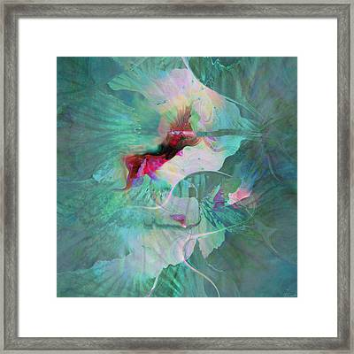 A Sacred Place - Abstract Art Framed Print by Jaison Cianelli