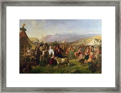 A Scottish Fair Framed Print by John Phillip