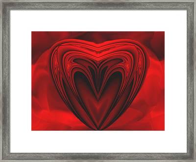 A Secret Love Framed Print by Wendy J St Christopher