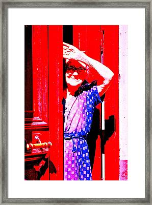A Senior Moment Framed Print by Ira Shander