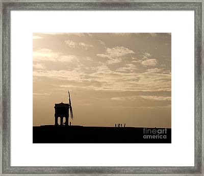 A Sense Of Perspective Framed Print by Anne Gilbert