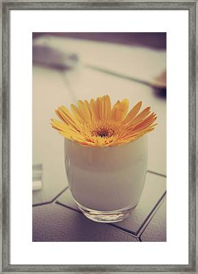 A Simple Thing Framed Print by Laurie Search