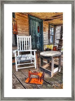 A Simpler Time II - Rural North Carolina Framed Print by Dan Carmichael