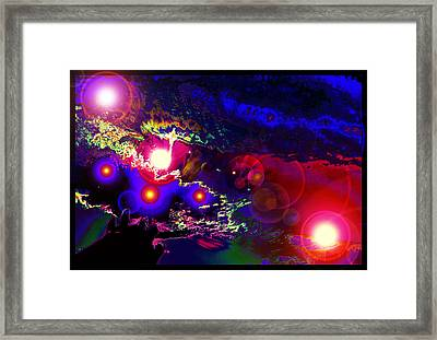 A Small Act Of Evening Magic Framed Print by Susanne Still