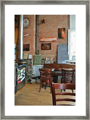 A Small Town Brewing Company Framed Print by Image Takers Photography LLC - Carol Haddon