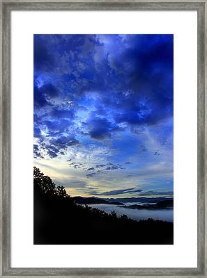 A Smoky Mountain Dawn Framed Print by Michael Eingle
