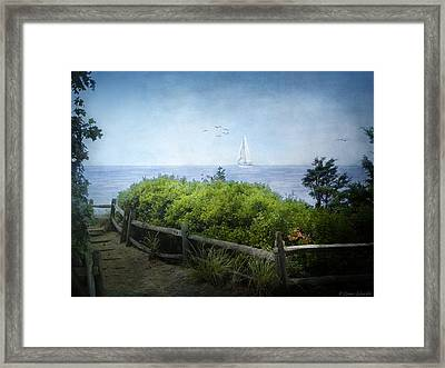A Song Of What Will Be... Framed Print by Lianne Schneider