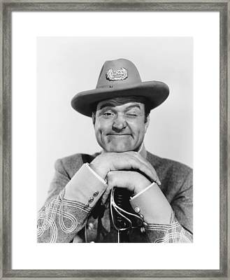 A Southern Yankee, Red Skelton, 1948 Framed Print by Everett