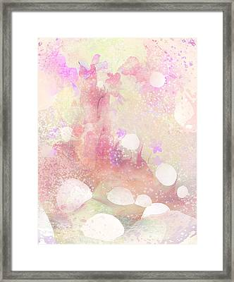 A Sparrow Sings Alone Framed Print by Rachel Christine Nowicki
