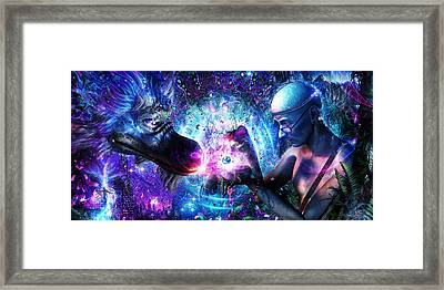 A Spirit's Silent Cry Framed Print by Cameron Gray