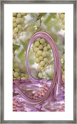 A Splash Of Pure Goodness Framed Print by PainterArtist FIN