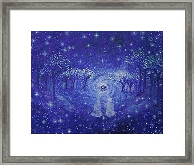 A Star Night Framed Print by Ashleigh Dyan Bayer