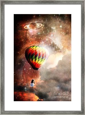 A Starry Ride Framed Print by Stephanie Frey