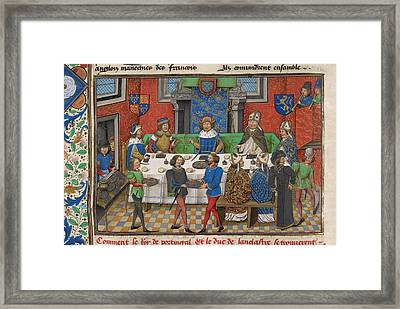 A Stately Banquet Framed Print by British Library
