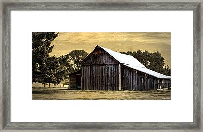 A Step Out Of Time Framed Print by Jordan Blackstone