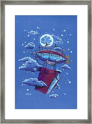 A Storybook Adventure Framed Print by David Breeding