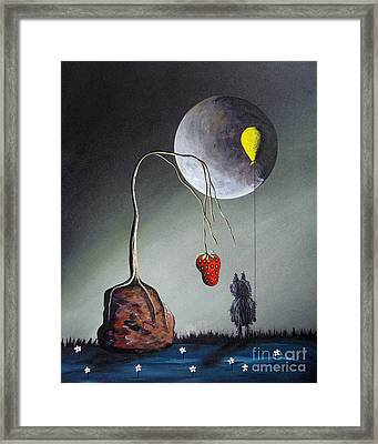 A Strange Dream By Shawna Erback Framed Print by Shawna Erback