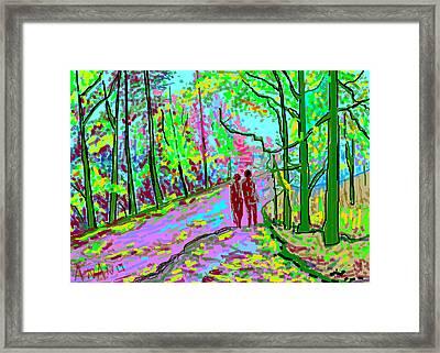 A Street Scene-2 Framed Print by Anand Swaroop Manchiraju