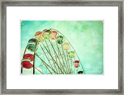 Carnival - A Summer's Day Framed Print by Colleen Kammerer