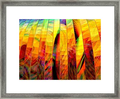 A Sunny Autumn Day  Framed Print by Andreas Thust