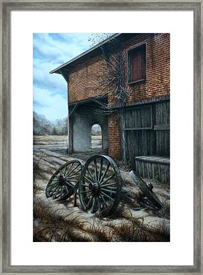 A Surrender To Nature Framed Print by William Albanese Sr