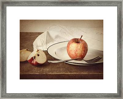 A Taste Of Autumn Framed Print by Amy Weiss
