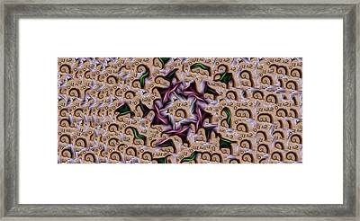 A Tear In The Space Time Continuum Framed Print by Jimi Bush