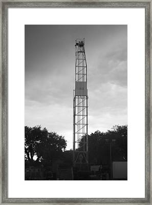 A Texas Tower  Framed Print by Shawn Marlow