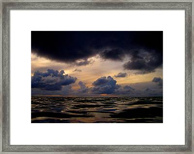 A Time Of Changes. Art On Maldives. Framed Print by Andy Za