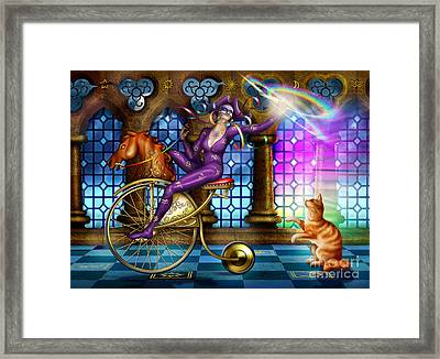 A Touch Of Colour Framed Print by Ciro Marchetti