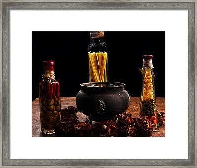 A Touch Of Italian  Framed Print by Camille Lopez