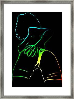 A Touch Too Much Framed Print by Steve K