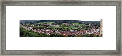 A Town In France Framed Print by Olivier Le Queinec