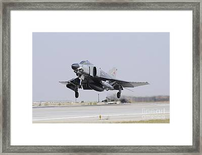 A Turkish Air Force F-4e 2020 Framed Print by Riccardo Niccoli