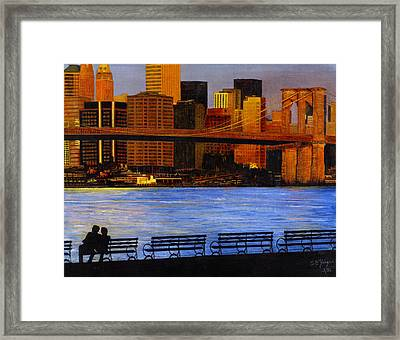 A View From Brookklyn Framed Print by Stuart B Yaeger