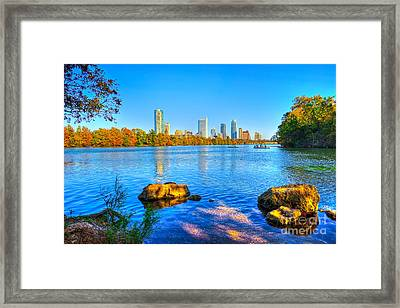 A View From Lou Neff Point Framed Print by Tod and Cynthia Grubbs