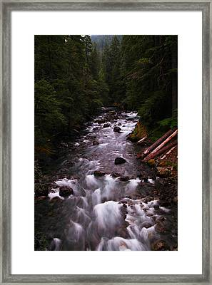 A View Of The River Framed Print by Jeff Swan