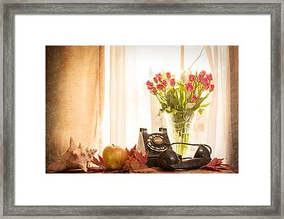 A Voice From The Past Framed Print by Jon Woodhams