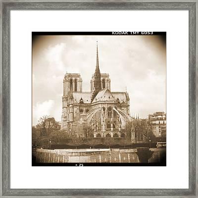 A Walk Through Paris 25 Framed Print by Mike McGlothlen
