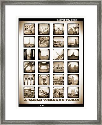 A Walk Through Paris Framed Print by Mike McGlothlen
