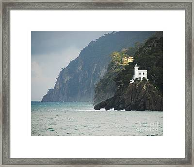 A Welcome Light Framed Print by Mel Steinhauer