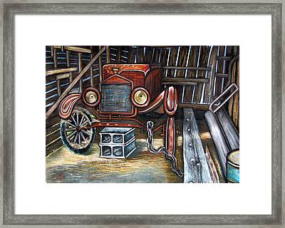 A Well-earned Rest Framed Print by Amber Nissen