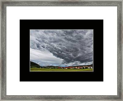 A Window To Switzerland Framed Print by Mountain Dreams