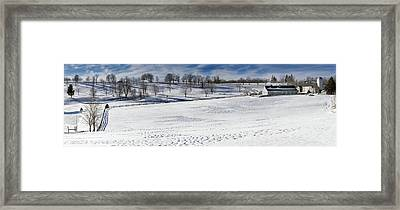 A Winters Day Framed Print by Bill Wakeley