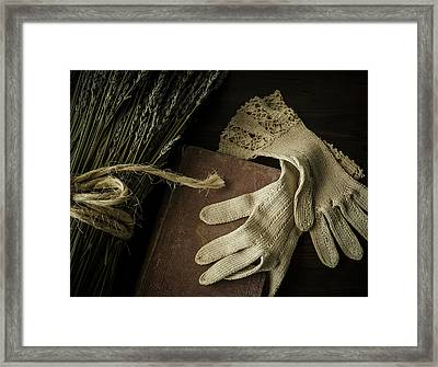 A Woman's Touch Framed Print by Amy Weiss