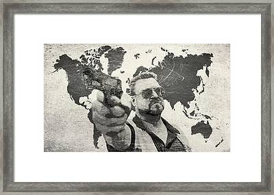 A World Of Pain B Framed Print by Filippo B