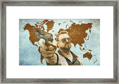 A World Of Pain Framed Print by Filippo B