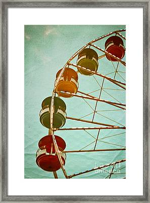 A Wrinkle In Time Framed Print by Colleen Kammerer