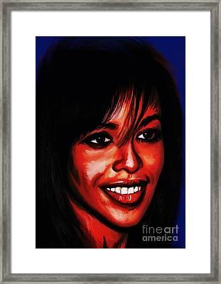 Aaliyah  Framed Print by Andrzej Szczerski