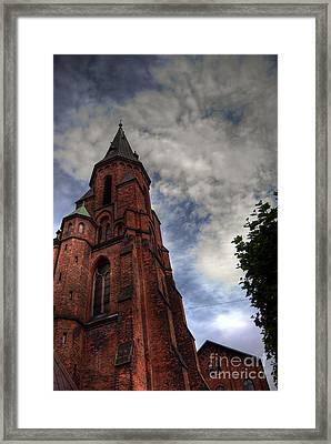 Aarhus Church Hdr 04 Framed Print by Antony McAulay
